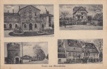 Allemagne - Gruss Aus Monsheim - Gare Bahnof - Villa - Franchise Militaire Guerre 14-18 - Alzey