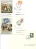1946 /47/49  Tag Der Briefmarke Mit Zwei Offiziellen Karten - Lettres & Documents