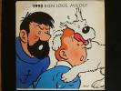 Calendrier  Hergé  1993    ( 29x29 Cm) - Calendriers