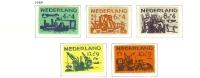 1959 - Nederland NVPH 722-726 Ongebruikt - Zomerzegels - Deltawerken [A46_1408] - 1949-1980 (Juliana)