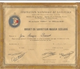 Fédération Nationale De Sauvetage - Diploma & School Reports