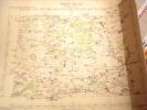 CARTE GEOGRAPHIQUE DE FRANCE-ROMILLY SUR SEINE-1880- AVEC ESTAMPILLE -CARTE SERVICE VICINAL - Geographical Maps