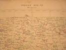 CARTE DE FRANCE-MONTMIRAIL1880- AVEC ESTAMPILLE -CARTE SERVICE VICINAL - Geographical Maps