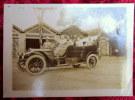 CPA Carte Photo Originale 1916 WWI SAIGON Indochine Militaires Automobile DE DION BOUTON VOITURE CAR Colonie - Turismo