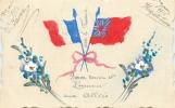 BONNE ANNEE ET HONNEUR AUX ALLIES 1916 - Patrióticos