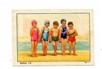 IMAGE ALBUM NESTLE / Série 78  Image N°  1  NATATION ENFANTS Et MAILLOTS DE PISCINE - Natation