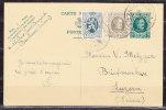 P 112 Koenig Albert + ZF, Antwerpen Nach Luzern 1929 (35950) - Ganzsachen