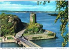 Postal Norman Castle (Wexford) Irlanda. River And Ferry - Wexford