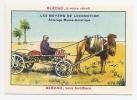 Chromo Image Blécao Imp. Fort Moyens Locomotion Transport Attelage Russo-Asiatique Asie Chameau Mongolie Turquie A4-15 - Autres