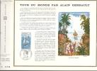 """France CEF 120 - Tour Du Monde Par Alain Gerbault """"l'arrivée En Polynésie"""" - 10.01.1970 Laval - T. 1621 - Covers & Documents"""