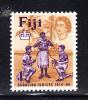 Fiji MNH Scott #207 1sh Scouts Of India, Fiji, Europe Tying Knot - 50th Anniversary Of Founding Of Fiji Boy Scouts - Fidji (...-1970)