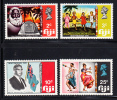 Fiji MNH Scott #297-#300 Independence - Fidji (1970-...)