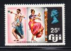 Fiji MNH Scott #300 25c Dancers - Independence - Fidji (1970-...)