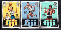 Fiji MNH Scott #321-#323 South Pacific Games - Fidji (1970-...)