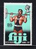 Fiji MNH Scott #323 25c Weightlifting - South Pacific Games - Fidji (1970-...)