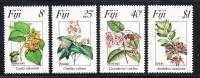 Fiji MNH Scott #495-#498 Flowers - Fidji (1970-...)
