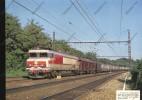 FERROVIAIRE / TRAIN / SNCF / Image : A YERRES Express 5072 Dijon Paris Locomotive CC 21004 Wagon Allege Postes - Andere