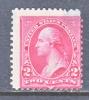 US 267a  Pink  Type III  Fault  *  Inverted Wmk - Unused Stamps