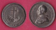 Medaglia In AG  Papa Leone XIII  1888 - Italy