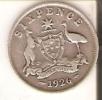MONEDA DE PLATA DE AUSTRALIA DE 6 PENCE DEL AÑO 1926  (COIN) SILVER,ARGENT - Australia