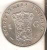 MONEDA DE PLATA DE ANTILLAS DE 1 GULDEN DEL AÑO 1952 (COIN) SILVER- ARGENT - Antillas Nerlandesas
