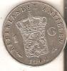 MONEDA DE PLATA DE ANTILLAS DE 1 GULDEN DEL AÑO 1964 (COIN) SILVER- ARGENT - Antillas Nerlandesas