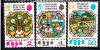 Fiji MNH Scott #324-#326 25th Anniversary Of South Pacific Commission - Fidji (1970-...)