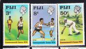 Fiji MNH Scott #341-#343 1974 Commonwealth Games - Fidji (1970-...)