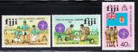 Fiji MNH Scott #351-#353 First National Boy Scout Jamboree, Lautoka - Fidji (1970-...)