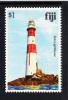 Fiji MNH Scott #423 $1 Solo Lighthouse - Architecture - Fidji (1970-...)
