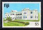 Fiji MNH Scott #425 $5 Government House - Architecture - Fidji (1970-...)
