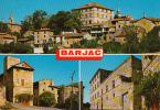 30 - Barjac : Multivues - CPM Ecrite - France