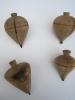 Toupies En Bois/Anciennes/ Fin19éme-début 20éme Siécle         JE 24 - Figurines