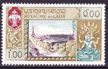 LAOS 1958 UNESCO 1,00 Vert / Olive  Y & T 54 ** - Laos
