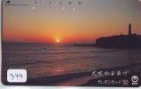Télécarte Japon PHARE (349) Telefonkarte Japan LEUCHTTURM * VUURTOREN LIGHTHOUSE LEUCHTTURM FARO FAROL Phonecard - Phares