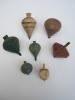 Toupies En Bois/Anciennes/ Fin19éme-début 20éme Siécle         JE 25 - Figurines
