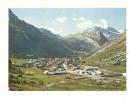 Cp, 73, Val D'Isère, Vue Générale, Au Fond, Le Mont Pourri, Voyagée 1972 - Val D'Isere