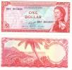 East Caribbean States P.13f  1 Dollar 1965 Unc - Caraïbes Orientales