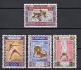 ALGERIE Mi.Nr. 583-586 Olympic Games 1972 -  MNH - Algerien (1962-...)