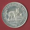 PORTUGAL - MOEDA EM PRATA 500 DE 1000$00 1994 - O LOBO - Portugal
