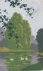"DIPINTA A MANO HAND PAINTED PEINT A LA MAIN HANNDGEMALTE BILDER I ""ARS NOVA""VG1928 Originale 100% - Peintures & Tableaux"