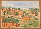 Paintings - Watercolours - Aquarelles