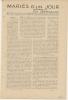 """Feuillet  NOUVELLE De 1914 """" MARIES D'un JOUR Par Ch.Géniaux """" - Documentos Históricos"""