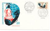 Uruguay FDC 9-4-1976 Telephone Centenary With Cachet - Uruguay