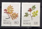 Norvegia 1980 Unif. 781/82 **/MNH VF - Norwegen