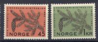 Norvegia 1962 Unif. 426/27 **/MNH VF - Nuovi