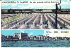 MARGHERITA DI SAVOIA (FG) - SALINA-TERME-LIDO-SPIAGGI A - F/G - V: 1966 - Foggia