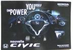 Carte Postale Automobile Publicitaire HONDA La Nouvelle CIVIC - Turismo
