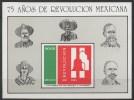 MEXIQUE  BLOC  N°30__ NEUF** VOIR SCAN__Léger Plis Central - Messico