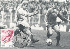 D07554 CARTE MAXIMUM CARD 1982 BELGIUM - SOCCER CP ORIGINAL - Soccer